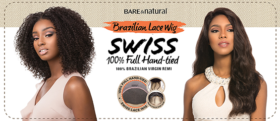 Sensationnel Bare & NaturalRemy Lace Wig