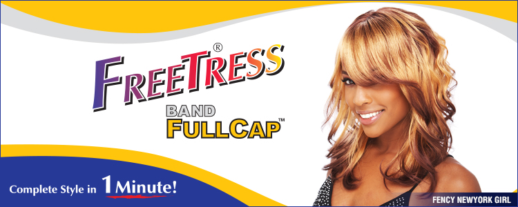 Freetress Band Fullcap - Bali Gril