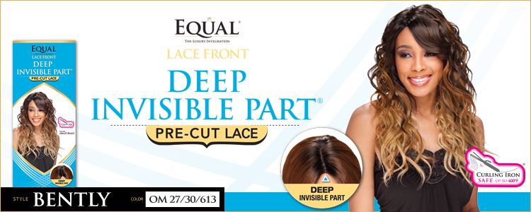 Freetress Equal Deep Invisible Part Lace Front Wig - Bently