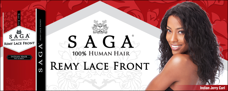 Saga Remy Indian Hair Lace Front Wig - IndianCurl