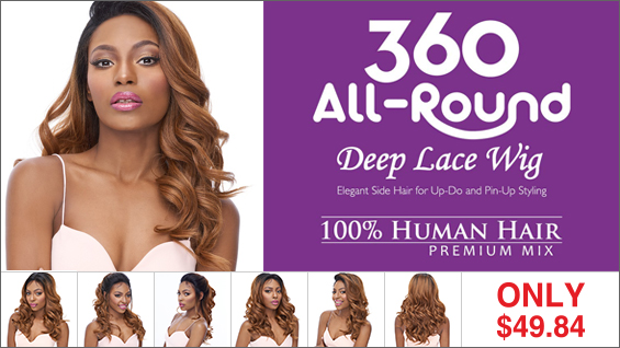 It's a Wig 360 Human Hair Blend Lace Wigs