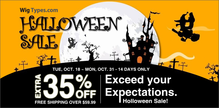 Extra 35%! Halloween Sale! FREE Shipping over $59.99 (Price Match Guarantee)