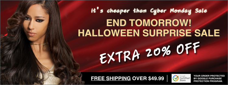 Halloween Suprise! EXTRA 20% OFF + Free UPS Ground Shipping over $49.99