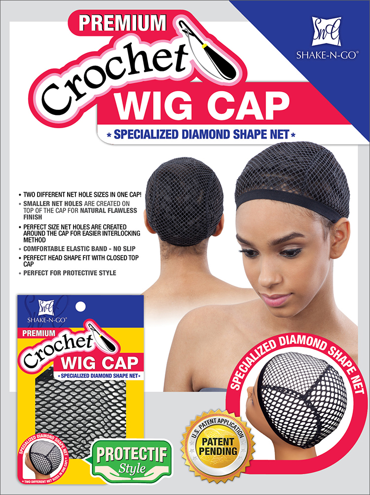 Freetress Crochet Wig Cap (Specialized Diamond Shape Net) - WigTypes ...