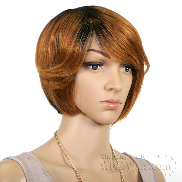 Sensationnel Human Hair Bump Collection Wig Vogue Crop 3
