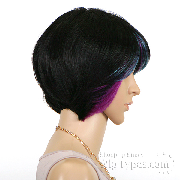 Sensationnel Human Hair Bump Collection Wig Vogue Crop 62