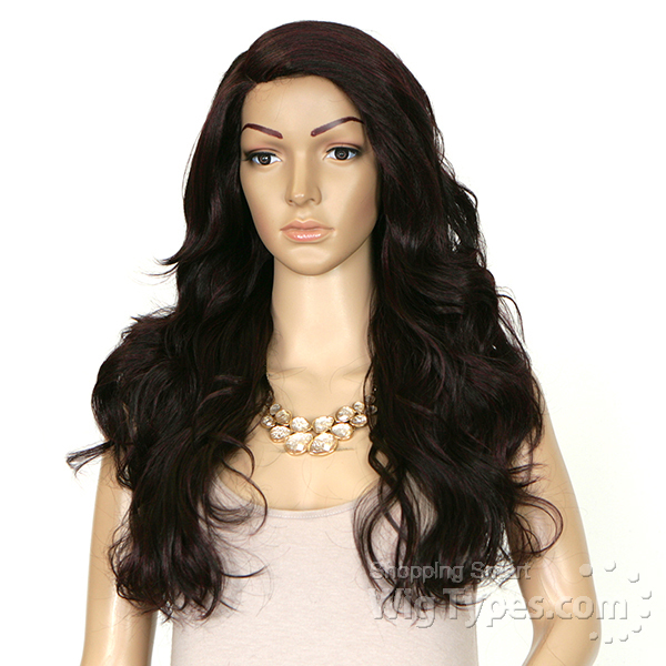 Sensationnel Synthetic Hair Empress Lace Parting Wig Aurora