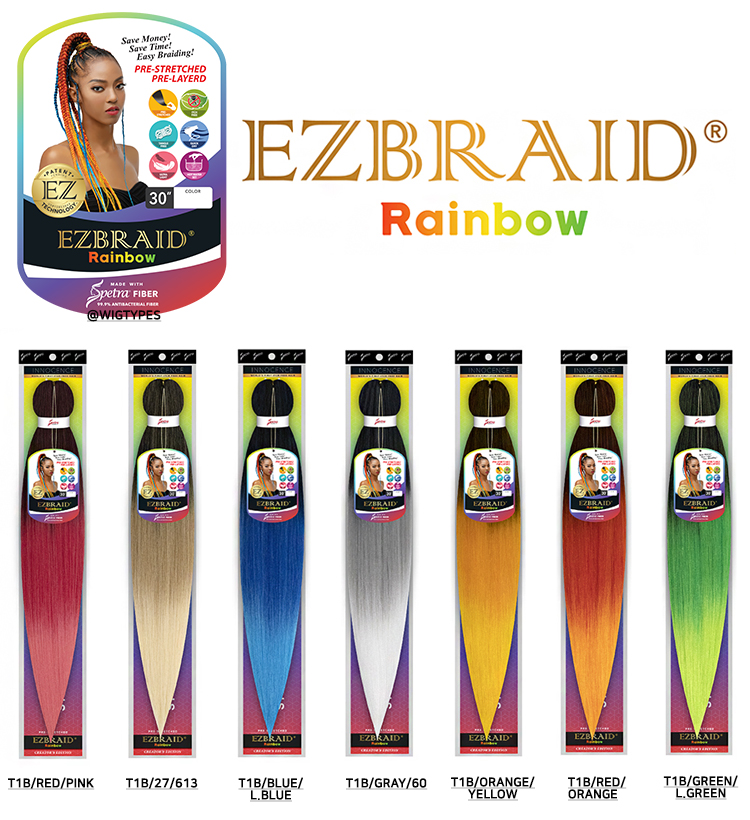 Innocence EZ Braid Rainbow 30