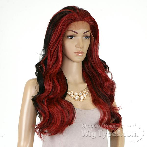 Isis Brown Sugar Human Hair Blend Silk Lace Wig - BS608