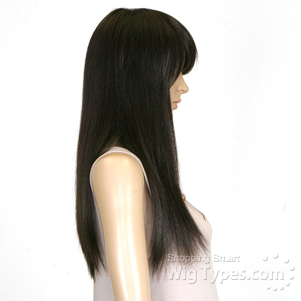 Isis Brown Sugar Human Hair Blend Soft Swiss Whole Lace Front Wig ...