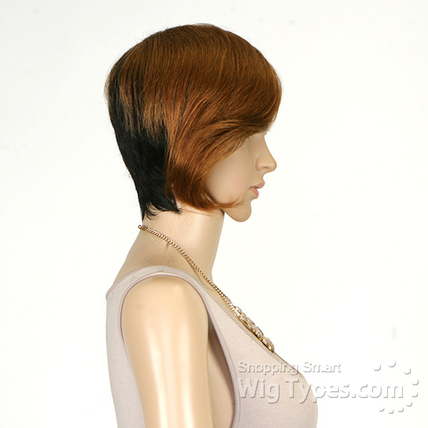 weave ponytail hairstyles with bangs : Its A Weave Cap Cynthia Image Short Hairstyle 2013