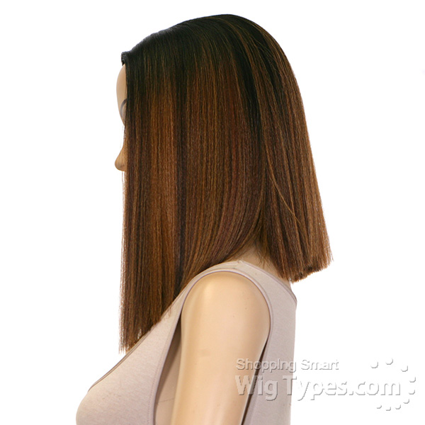 Model Model Synthetic Hair Deep Invisible Part Wig - JEWEL ... 1651d82cc