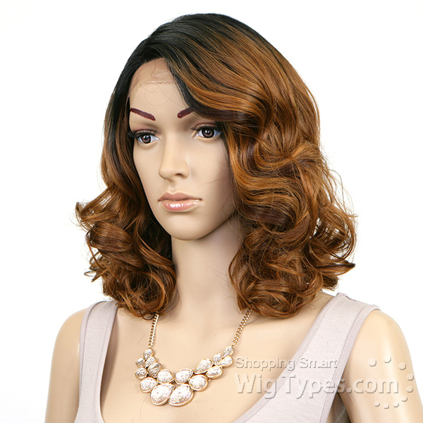 Model Model Synthetic Hair Lace Deep Invisible L Part Lace Front Wig
