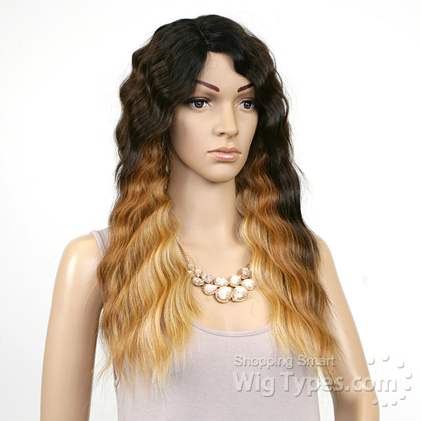 Model Model Deep Invisible Part Lace Front Wig - BELLE