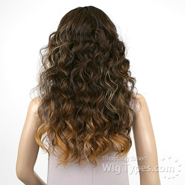 Model Model Deep Invisible Part Lace Front Wig - RISQUE
