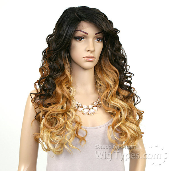 Model Model Deep Invisible Part Lace Front Wig - STORY