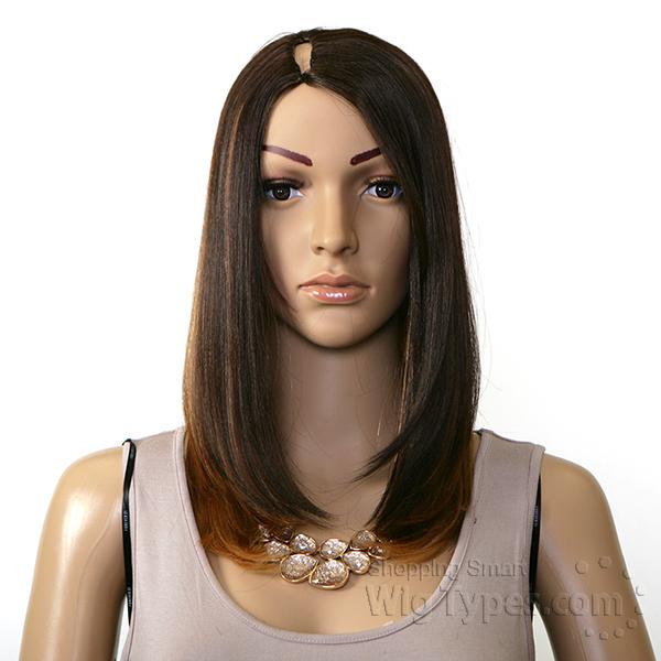 Model Model Invisible Part Wig - YUMI