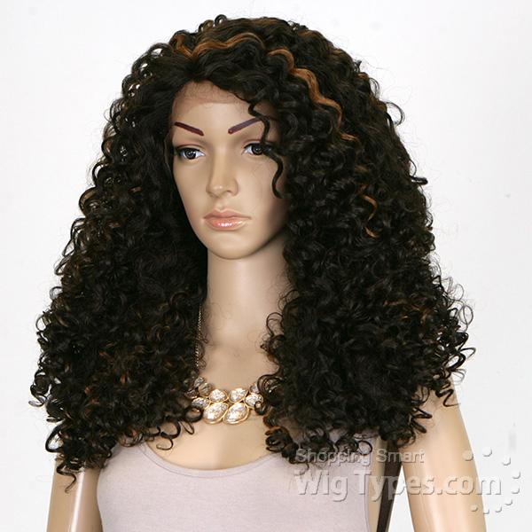 Outre Synthetic L Part Lace Front Wig - BATIK- DOMINICAN CURLY BUNDLE HAIR  (futura) - WigTypes.com 968e1d38e