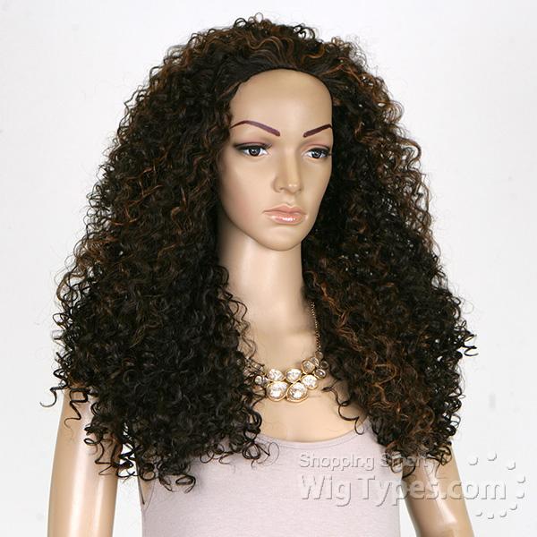 Outre Synthetic Half Wig Quick Weave Batik Dominican