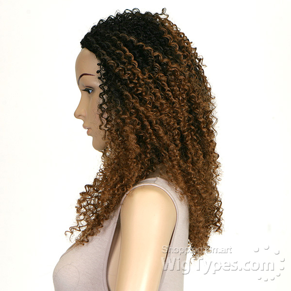 Outre Synthetic Half Wig Quick Weave Big Beautiful Hair 3c