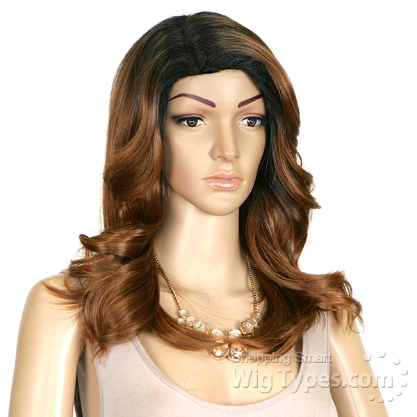 Outre Quick Weave Synthetic Full Cap Extreme Side Part