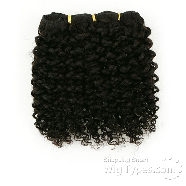 Zury Sis Naturali Star Sew In 100 Human Hair Weave 3c Curly