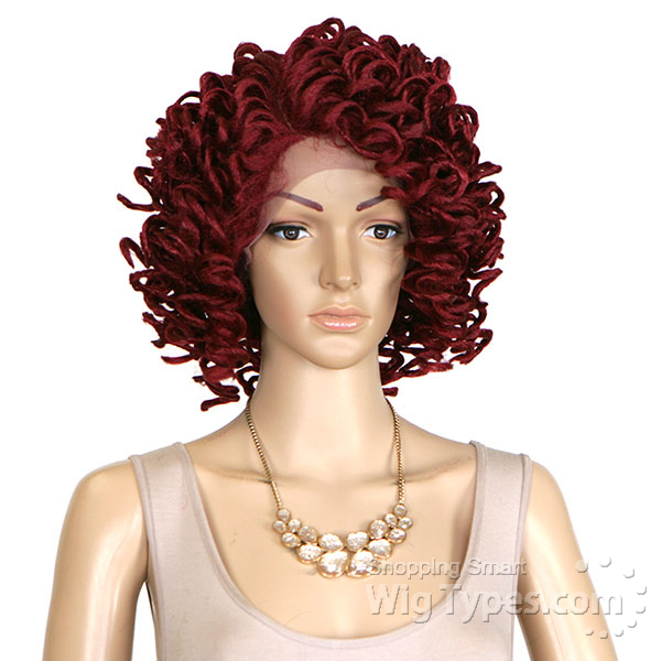 Top 50 Muppets Loc 80: Zury Sis Synthetic Hair Faux Locs Swiss Lace Front Wig
