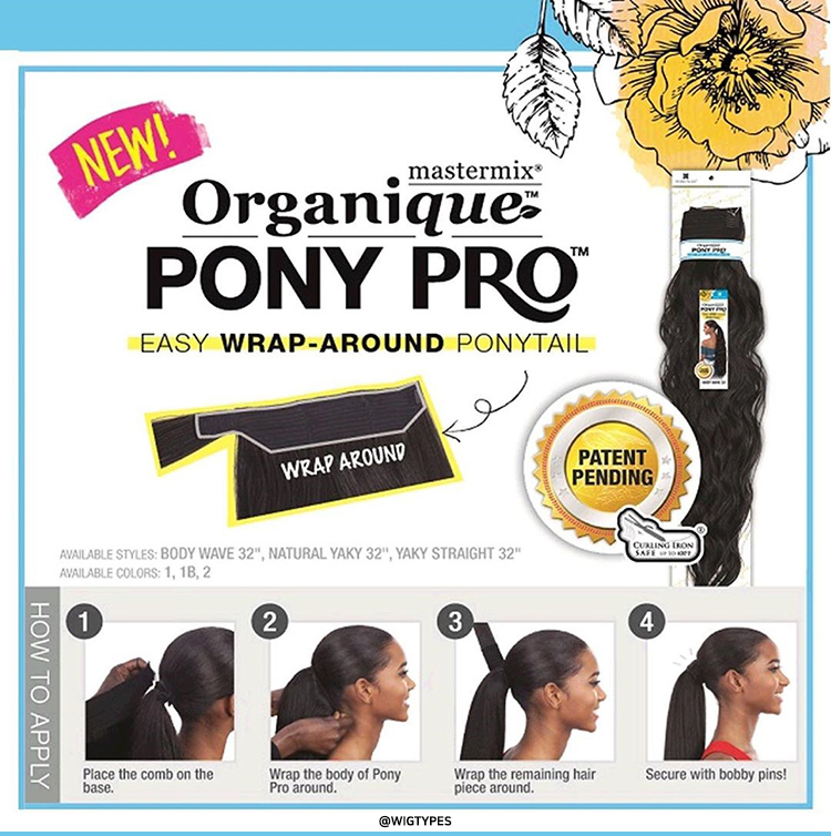 Shake N Go Organique Ponytail