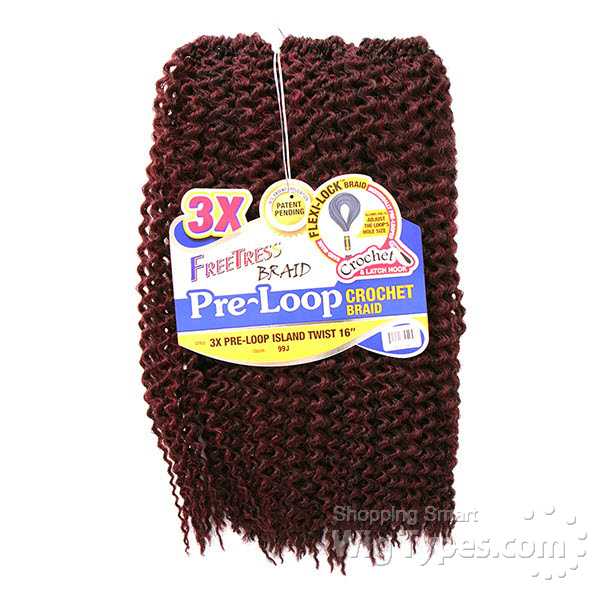 Crochet Hair Pre Loop : ... pre loop crochet island twist braid 16 f b pre loop crochet island