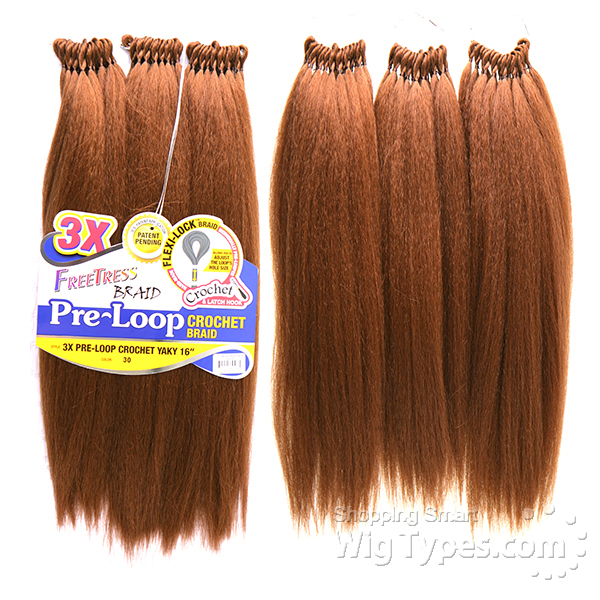 Crochet Hair Pre Loop : ... pre loop crochet yaky braid 16 f b 3x pre loop crochet yaky 16 99j