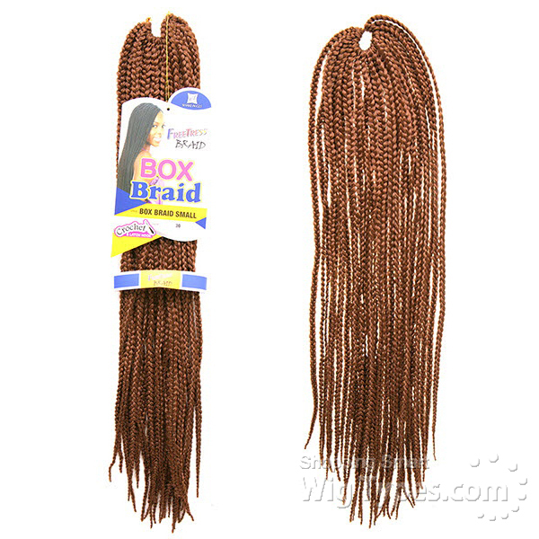 FreeTress Synthetic Hair Crochet Braid SMALL Box Braids eBay