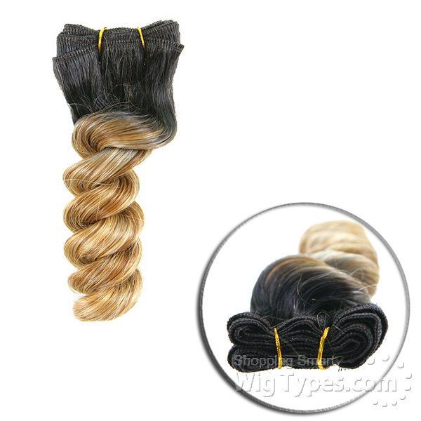 Milky Way Que Human Hair Blend Weave Short Cut Series