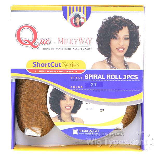 H M Q Spiral 3pcs