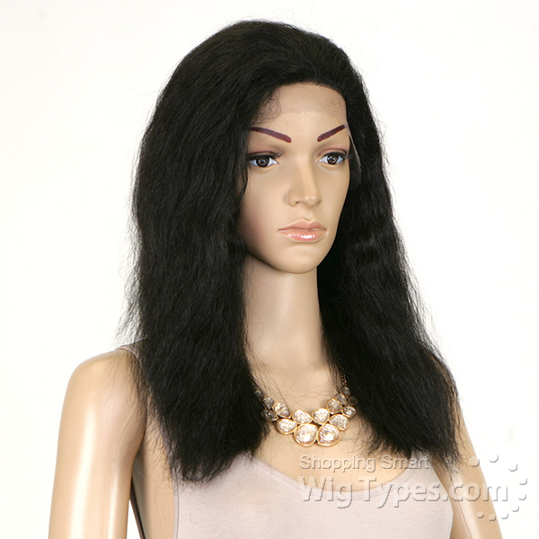 Milky Way Saga 100 Indian Remy Human Hair Lace Front Wig