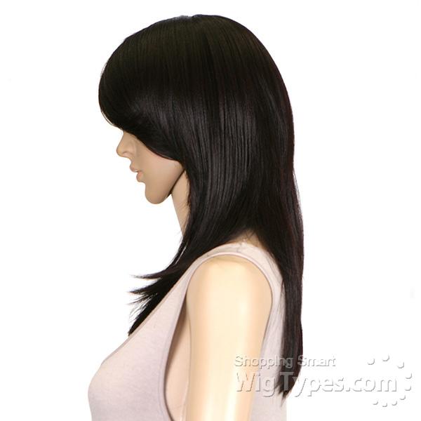 Human Hair Blend Wig 102