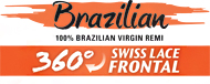 Sensationnel Unprocessed Brazilian Virgin Remy Weave - 360 Swiss Lace Frontal