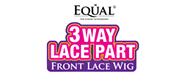 Freetress Equal  3 Way Lace Part - Lace Front Wig