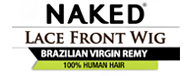 Naked Brazilian Virgin Remy - Lace Front Wig