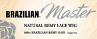 Brazilian Master Natural Remy Lace Wig