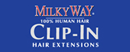 Milky Way - Clip-in Hair Extension