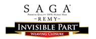 Saga Remy - Invisible part lace front wigs