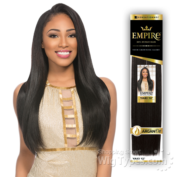 Sensationnel 100 Human Hair Weaving Empire Yaki Wvg 12 Wigtypes