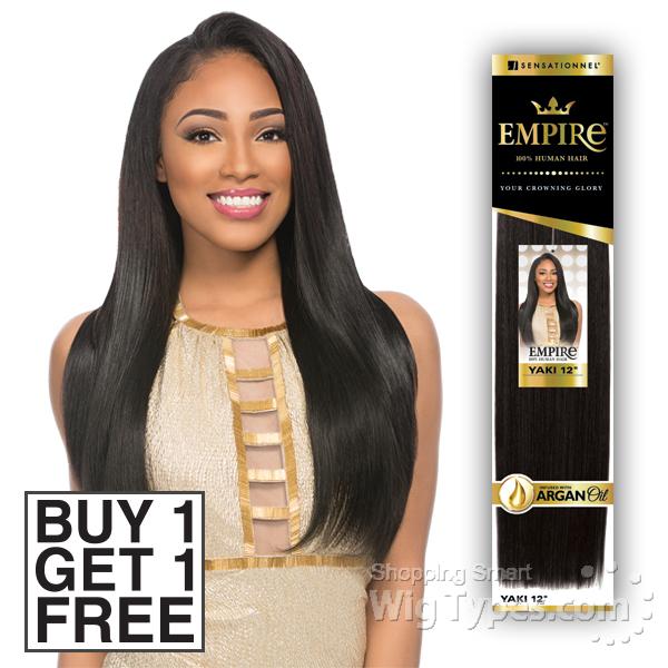 Sensationnel 100 Human Hair Weaving Empire Yaki Wvg 10 Buy 1 Get