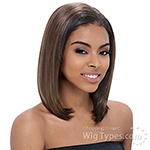 Janet Collection Easy Wear Synthetic Half Wig - EASY ARON