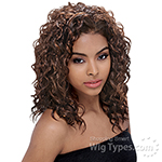 Janet Collection Easy Wear Synthetic Half Wig - EASY JOYCE