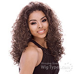 Janet Collection Easy Wear Synthetic Half Wig - EASY OLIVE