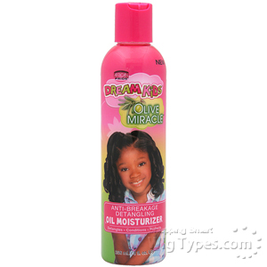 African Pride Dream Kids Anti-Breakage Detangling Oil Moisturizer 8oz