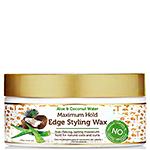 African Pride Moisture Miracle Aloe & Coconut Water Maximum Hold Edge Styling Wax 6oz
