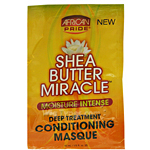 African Pride Shea Butter Miracle Moisture Intense Deep Treatment Conditioning Masque 1.5oz