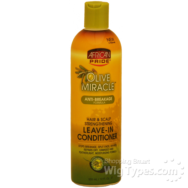 African Pride Leave In Conditioner Natural Hair